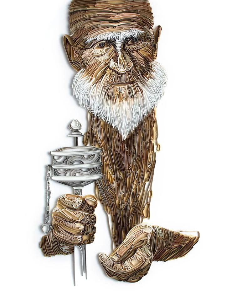 zanimljivi svet papirnih ilustracija Julije Brodskaje 9