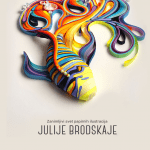 zanimljivi svet papirnih ilustracija Julije Brodskaje