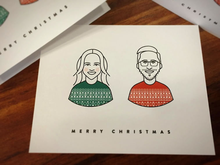 10 christmas card kevin burr - Best Christmas Cards Ever