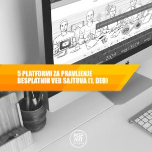 5 platformi za pravljenje besplatnih veb sajtova (1. deo)