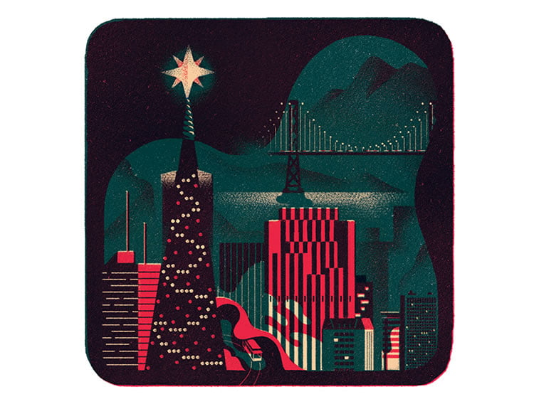9 dropbox holiday card justin tran