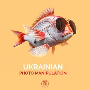 Photo manipulation by two talented Ukrainian designers