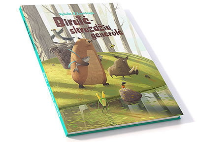 children's book gedomenas 4
