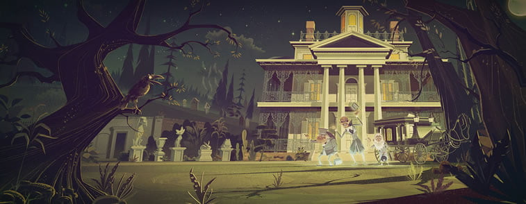 james gilleard disney's haunted mansion