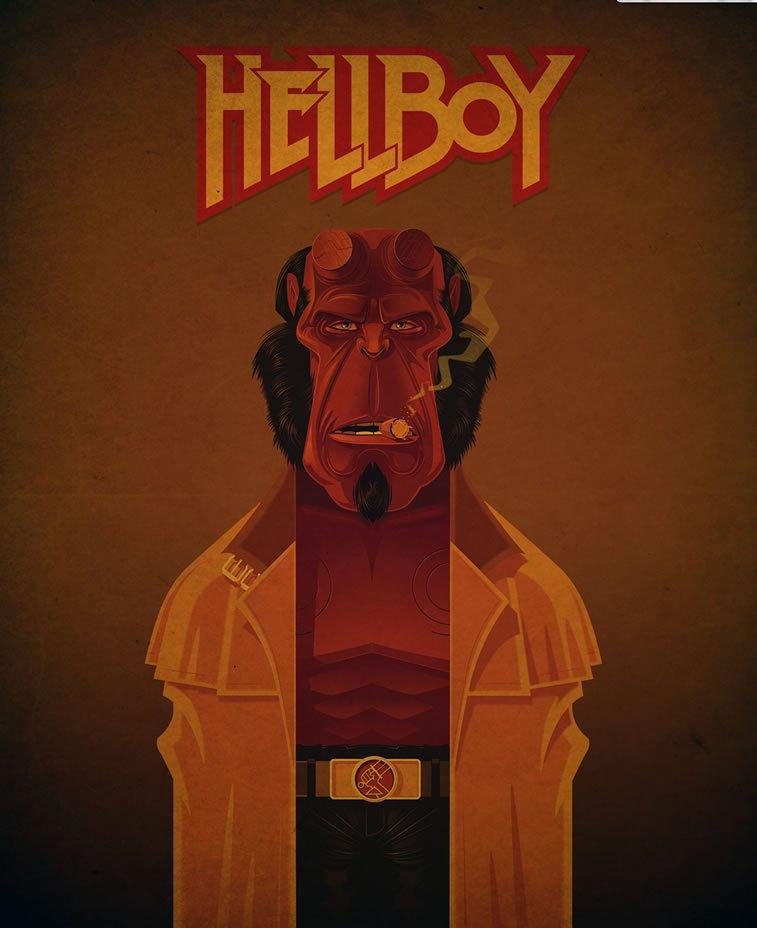 james gilleard hellboy
