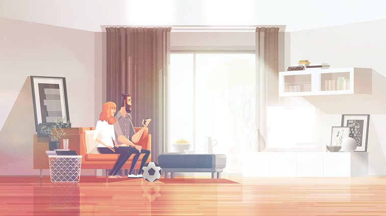 James Gilleard's animation for Ikea: Light is important