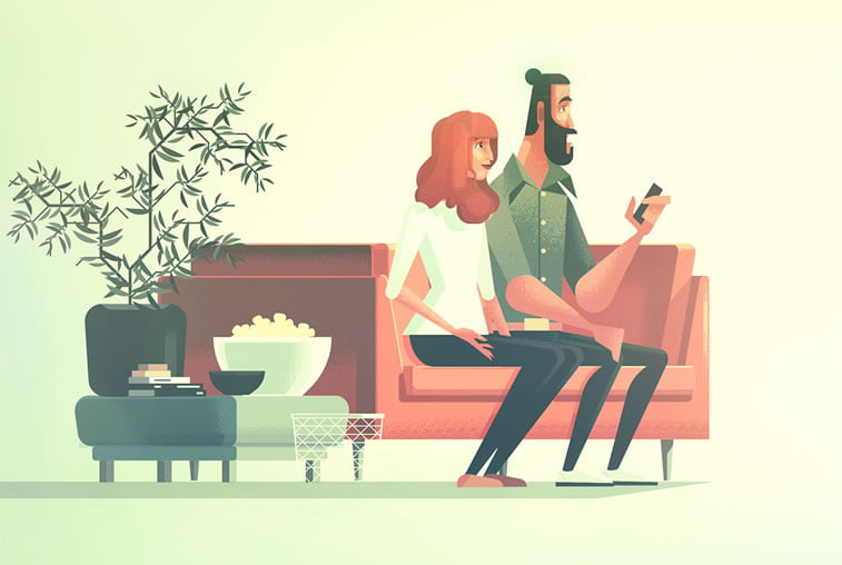 James Gilleard's animation for Ikea: Light is important 2