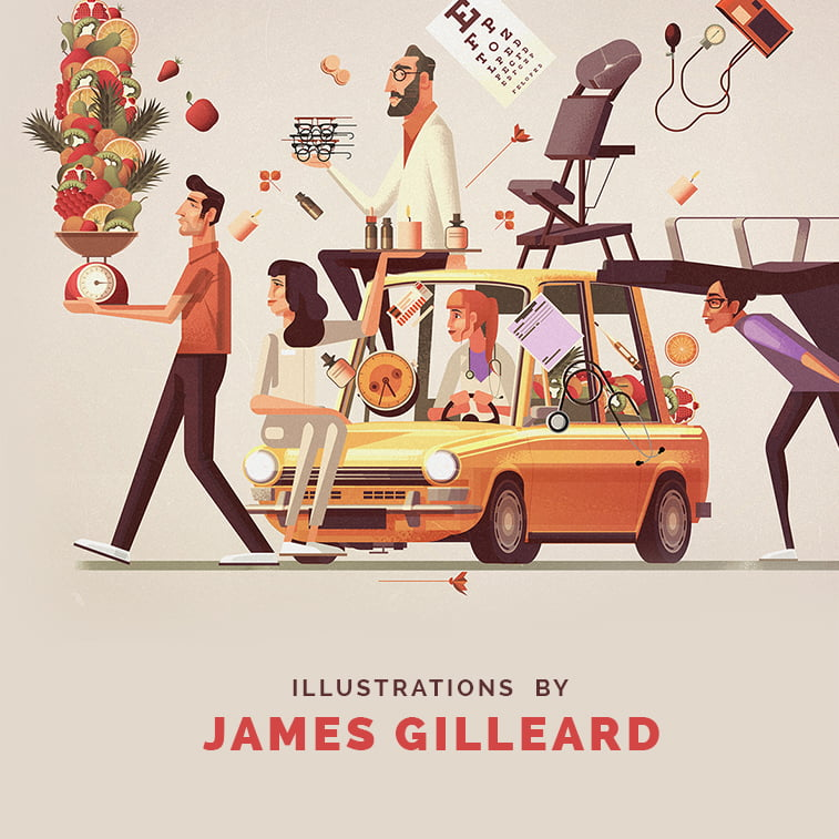 James Gilleard's illustrations [INTERVIEW]