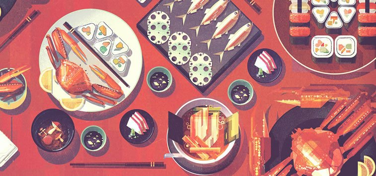 james gilleard japanese food