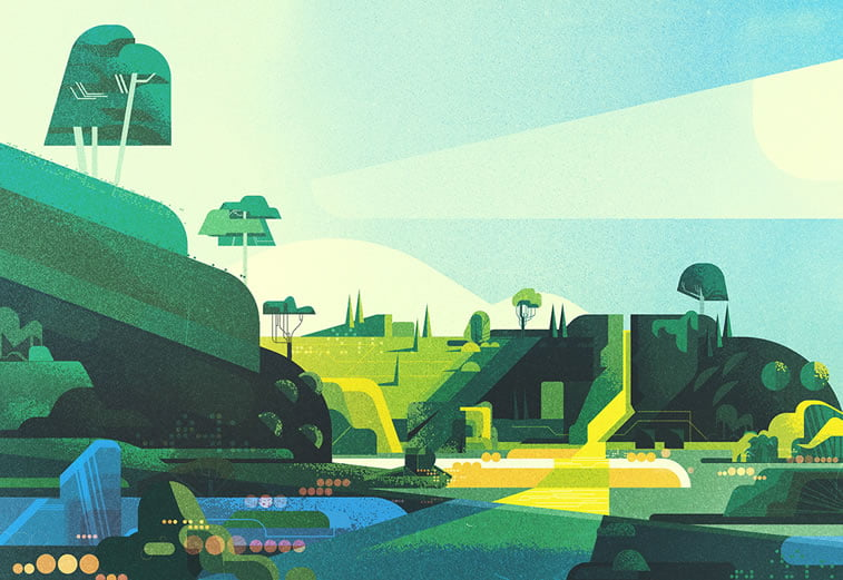 james gilleard landscapes