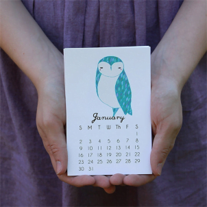Kreativni primeri dizajna kalendara