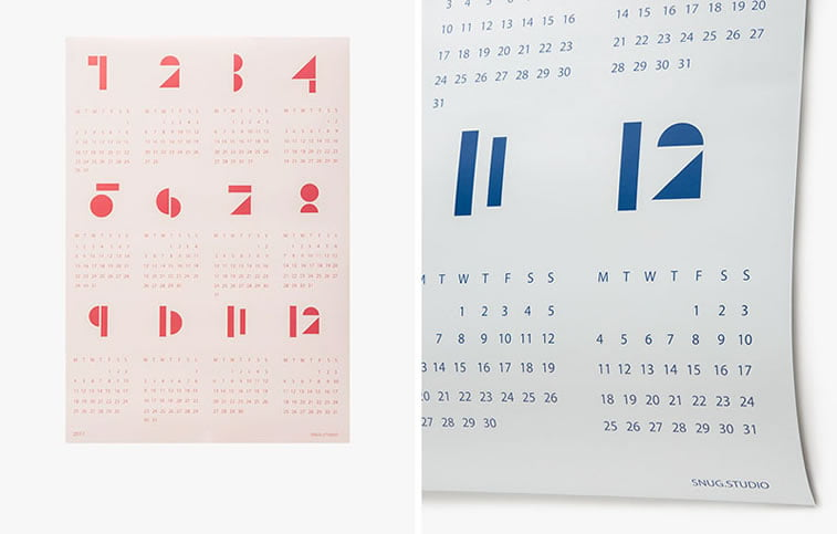 Kreativni primeri dizajna kalendara 11
