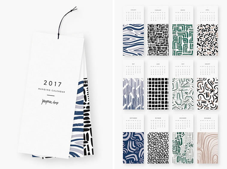 Kreativni primeri dizajna kalendara 12