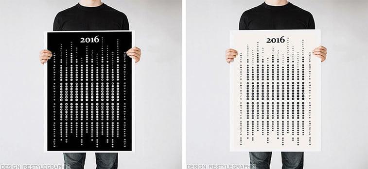Kreativni primeri dizajna kalendara 13