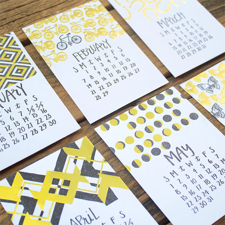 Kreativni primeri dizajna kalendara 24