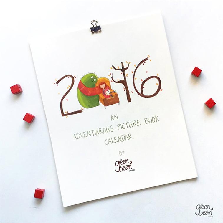 Kreativni primeri dizajna kalendara 28