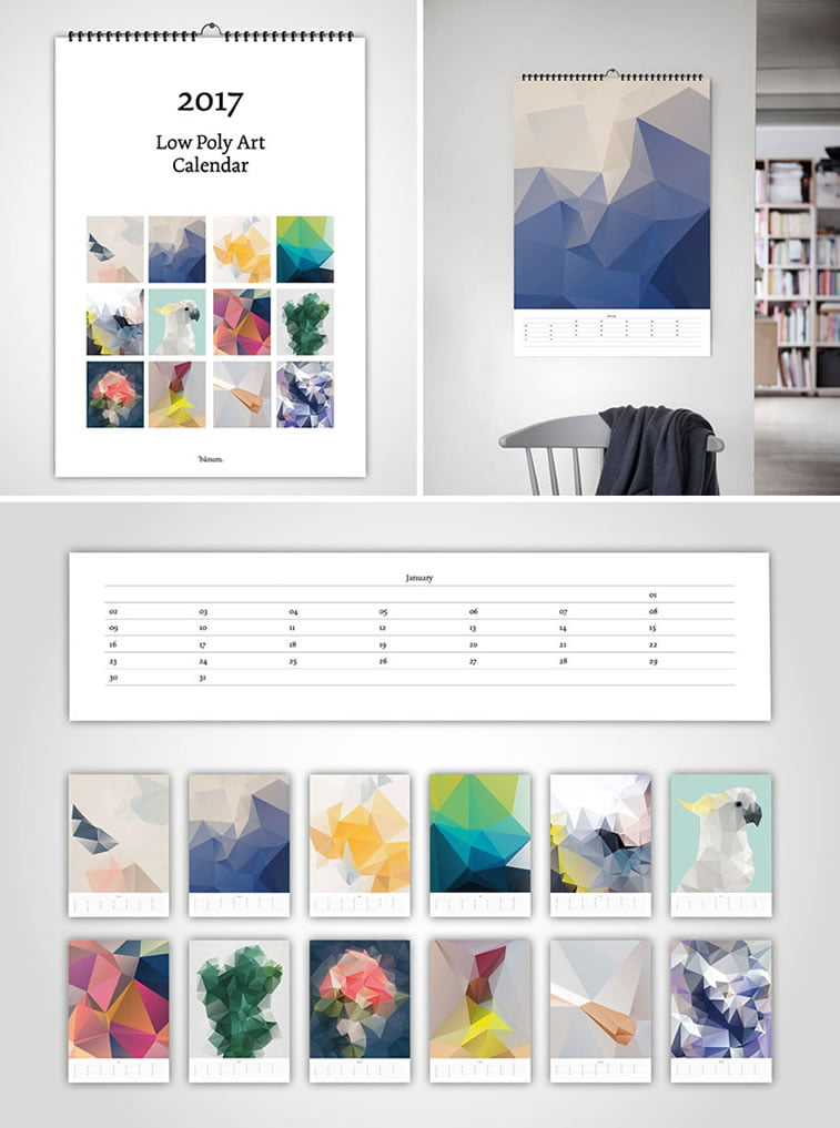 Kreativni primeri dizajna kalendara 3