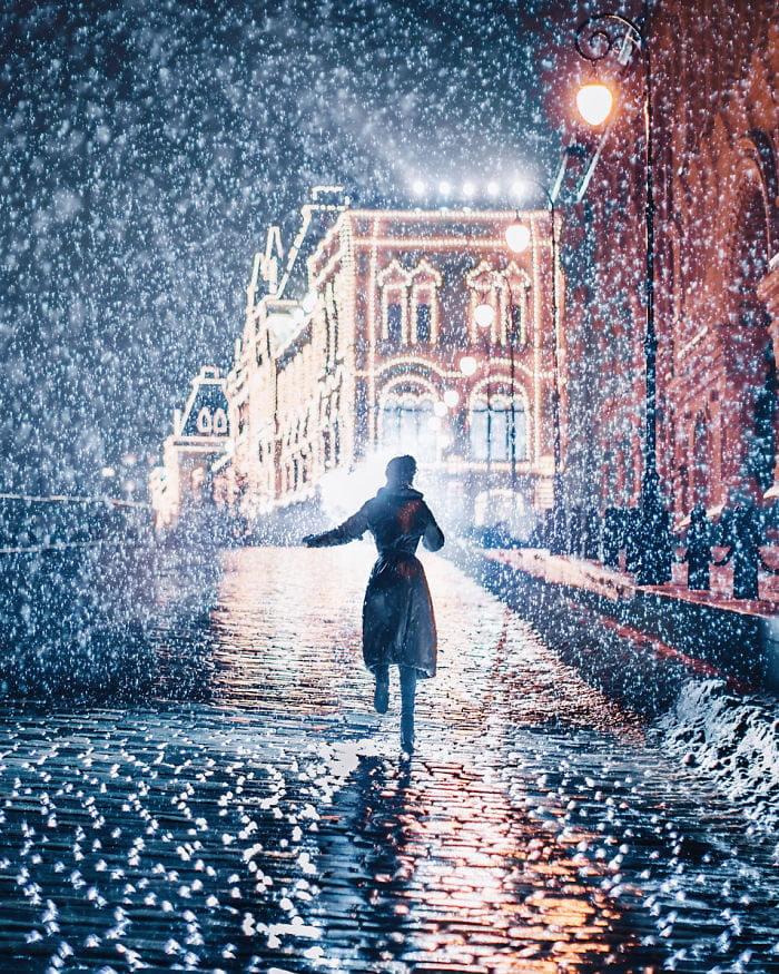 Zimska idila Kristine Makejeve 2