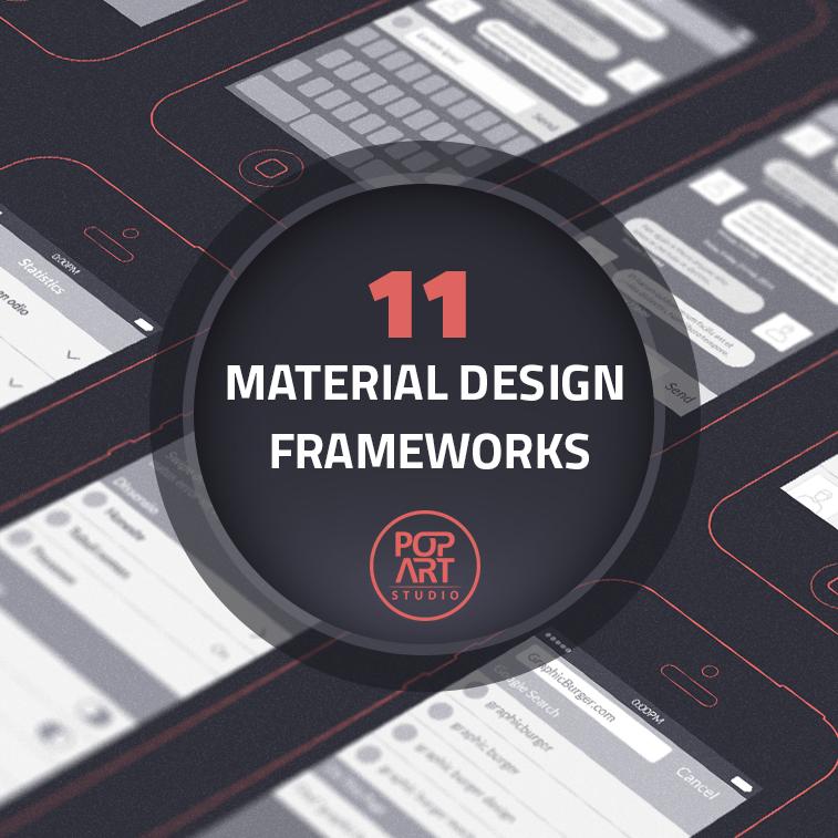 11 material design frameworks