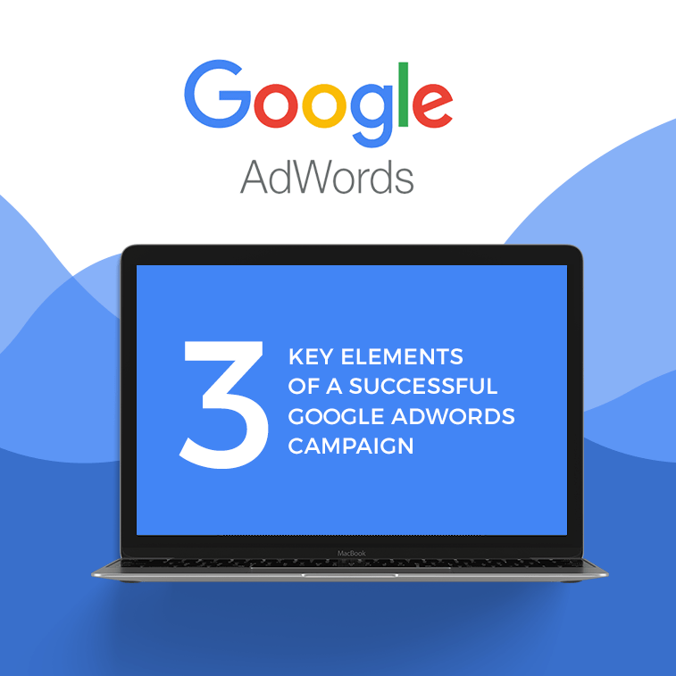 3 key elements of a successful Google AdWords campaign
