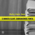 Slučaj Comic Sans: 5 minuta slave zabranjenog fonta 3