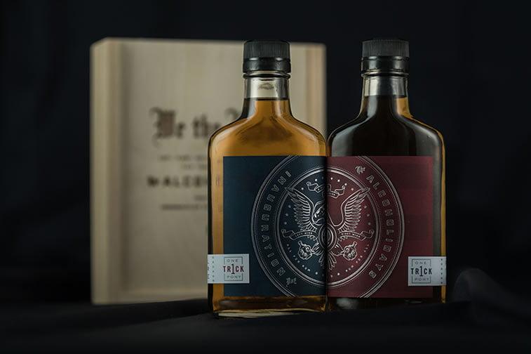 label design alcoholidays 1
