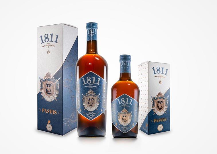 label design pastis 1811 1