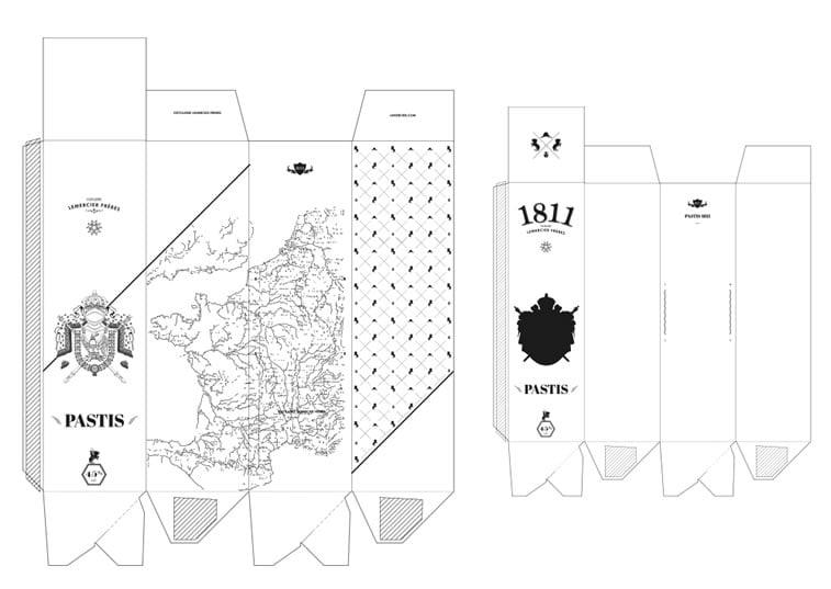 label design pastis 1811 2
