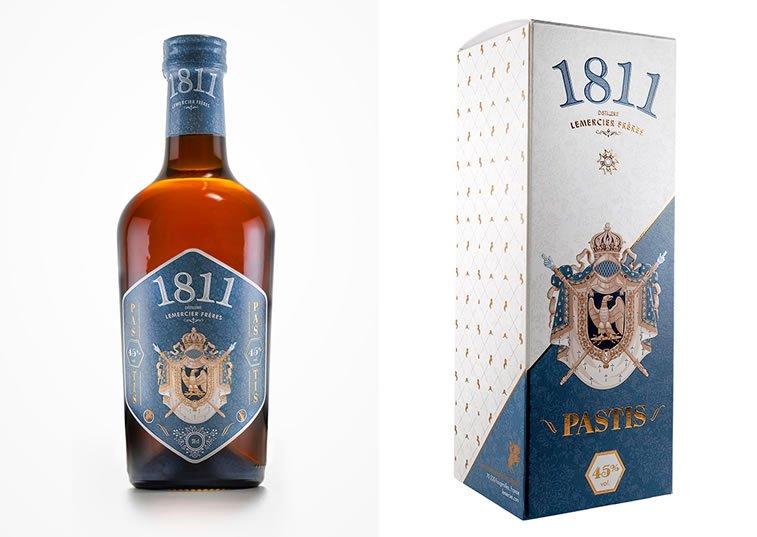 label design pastis 1811 3