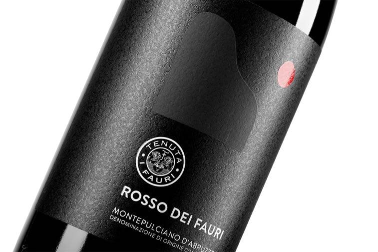 label design rosso dei fauri 3