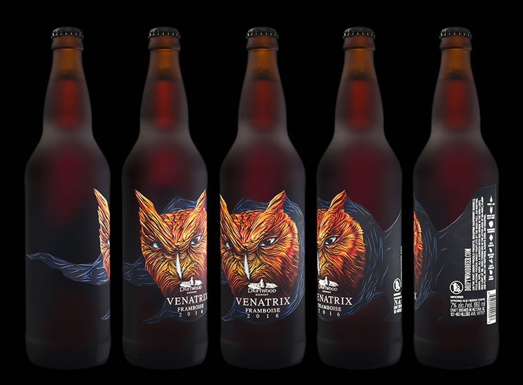 label design venatrix 1