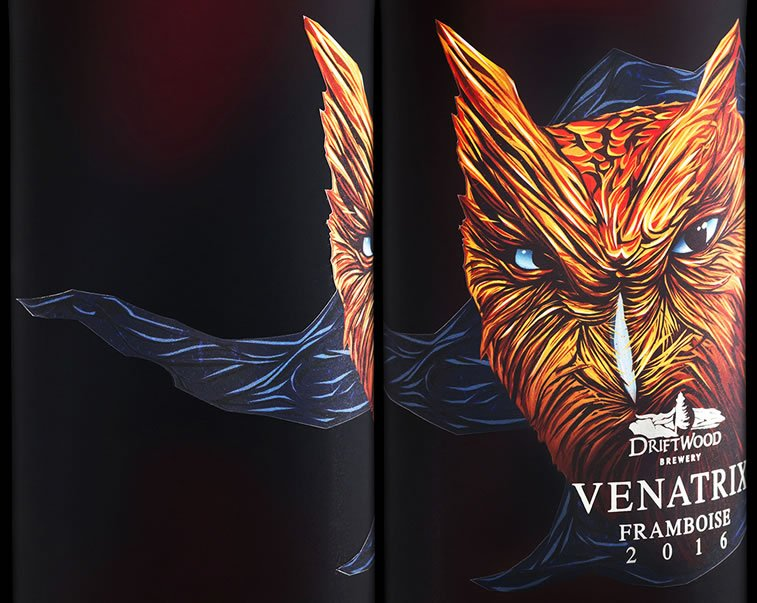 label design venatrix 2