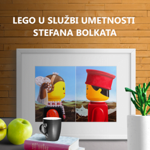 Lego u službi umetnosti Stefana Bolkata