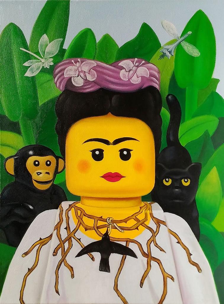 Lego u službi umetnosti Stefana Bolkata 2