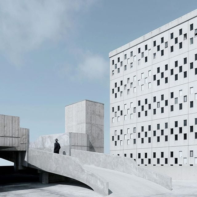 minimalist photos of urban architecture 1