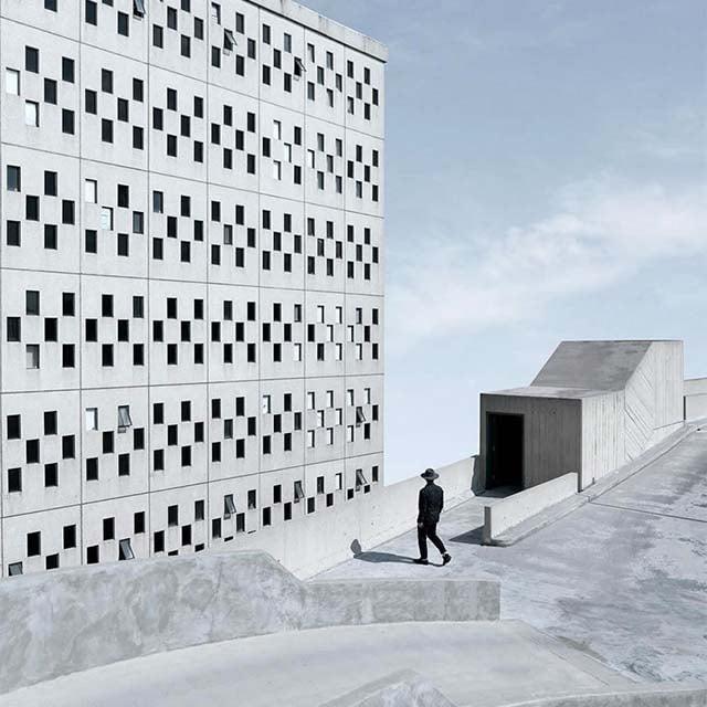 minimalist photos of urban architecture 10