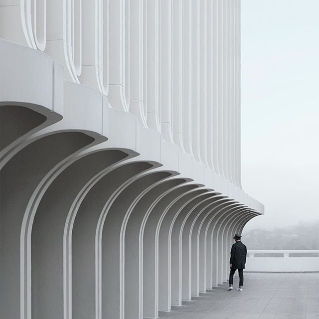 minimalist photos of urban architecture 9