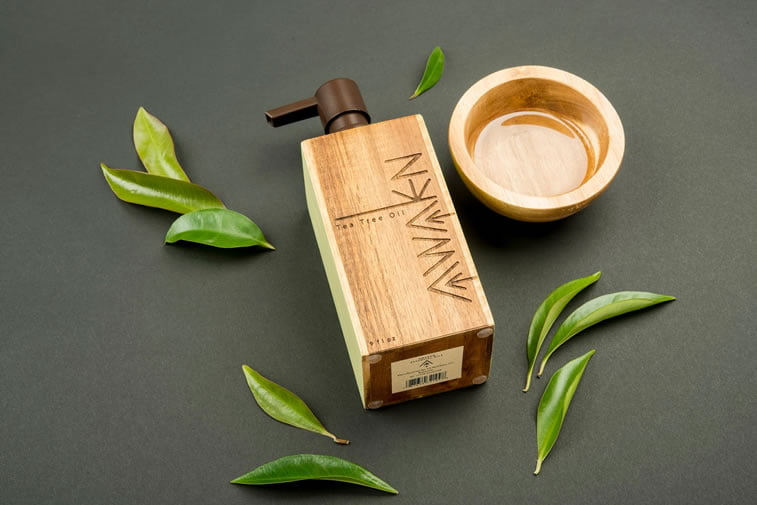 beauty products packaging design awaken