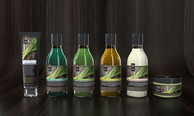 beauty products packaging design senspa