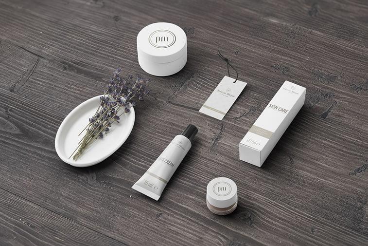 Packaging design for beauty products skin care profesor milojević