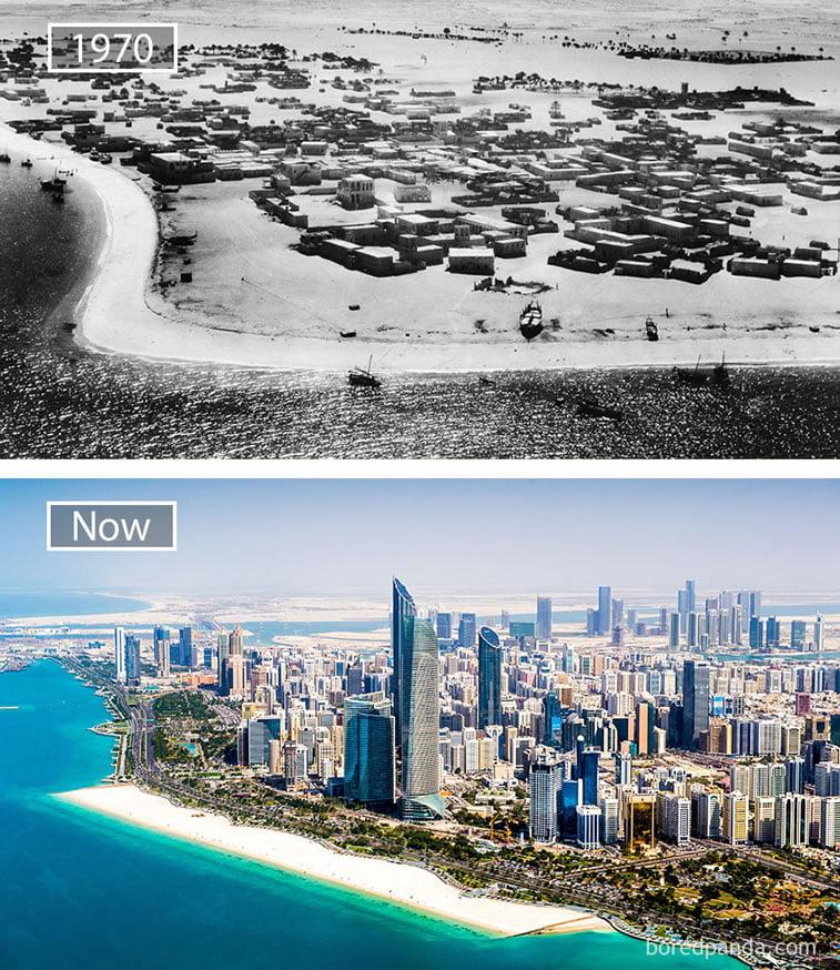 Fotografije svetskih metropola nekad i sad (2. deo) 1