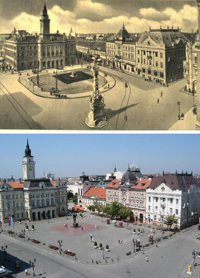 Fotografije svetskih metropola nekad i sad (2. deo) 17
