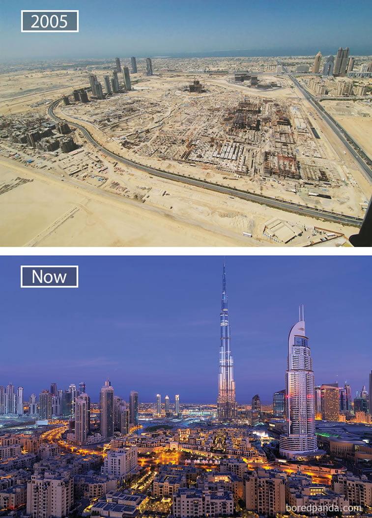Fotografije svetskih metropola nekad i sad (2. deo) 4