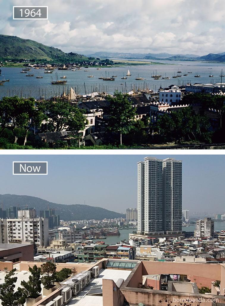 Fotografije svetskih metropola nekad i sad (2. deo) 7