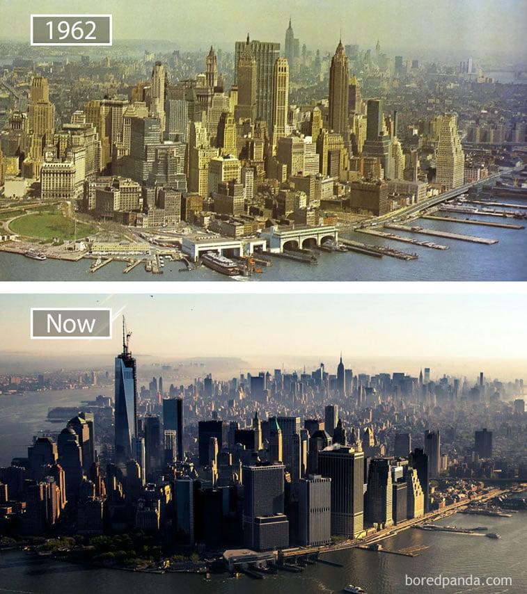 Fotografije svetskih metropola nekad i sad (2. deo) 9