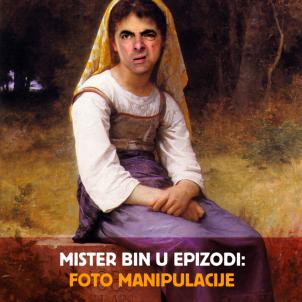 Mister Bin u epizodi: Foto manipulacije