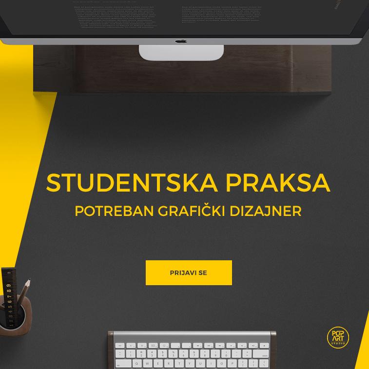 Studentska praksa: grafički dizajner