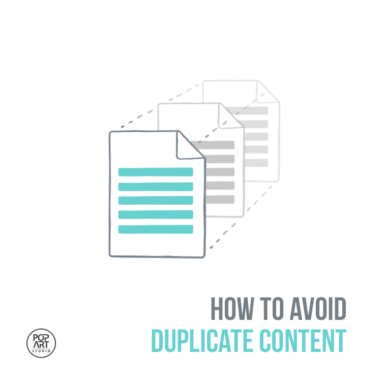 How to avoid duplicate content