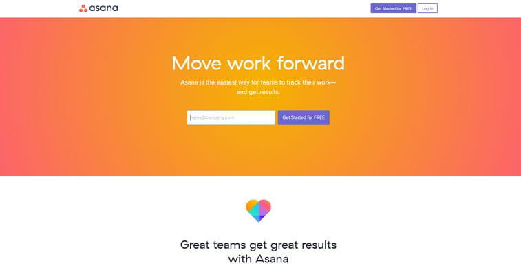 best web design project management tools asana