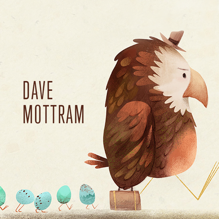 Character illustration by Dave Mottram